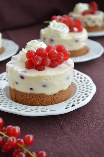 Mini cheesecakes aux groseilles citron la recette - Recette de mini dessert gourmand ...