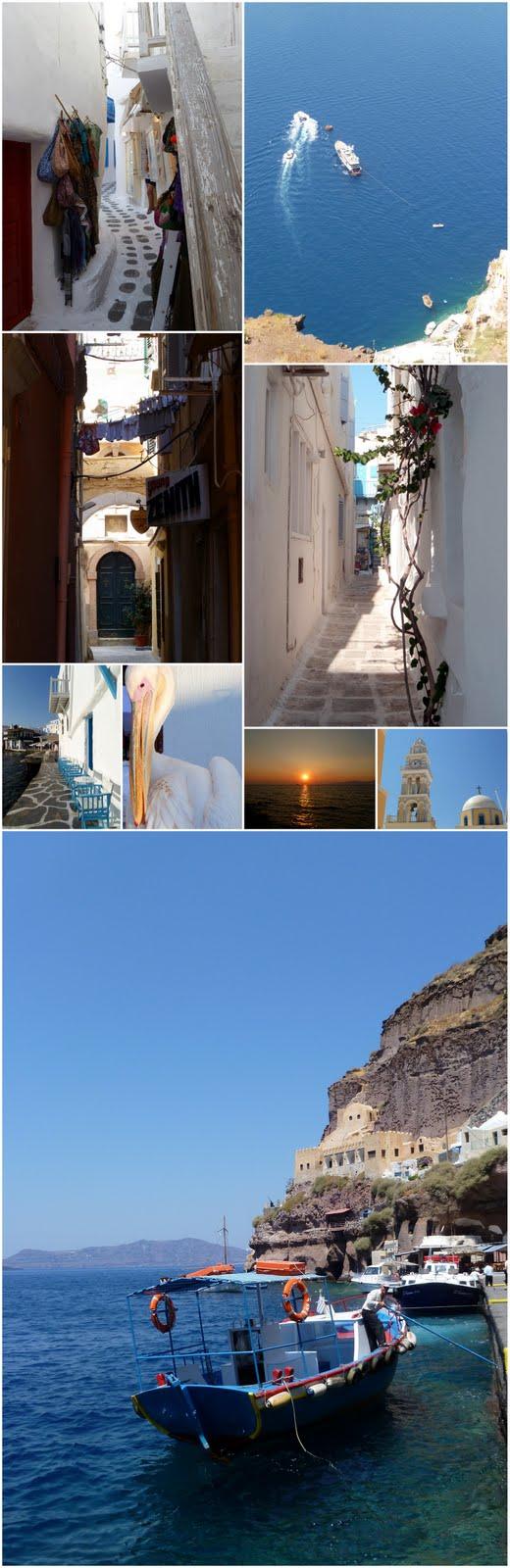 La Grèce, îles des cyclades, îles ioniennes et Athènes