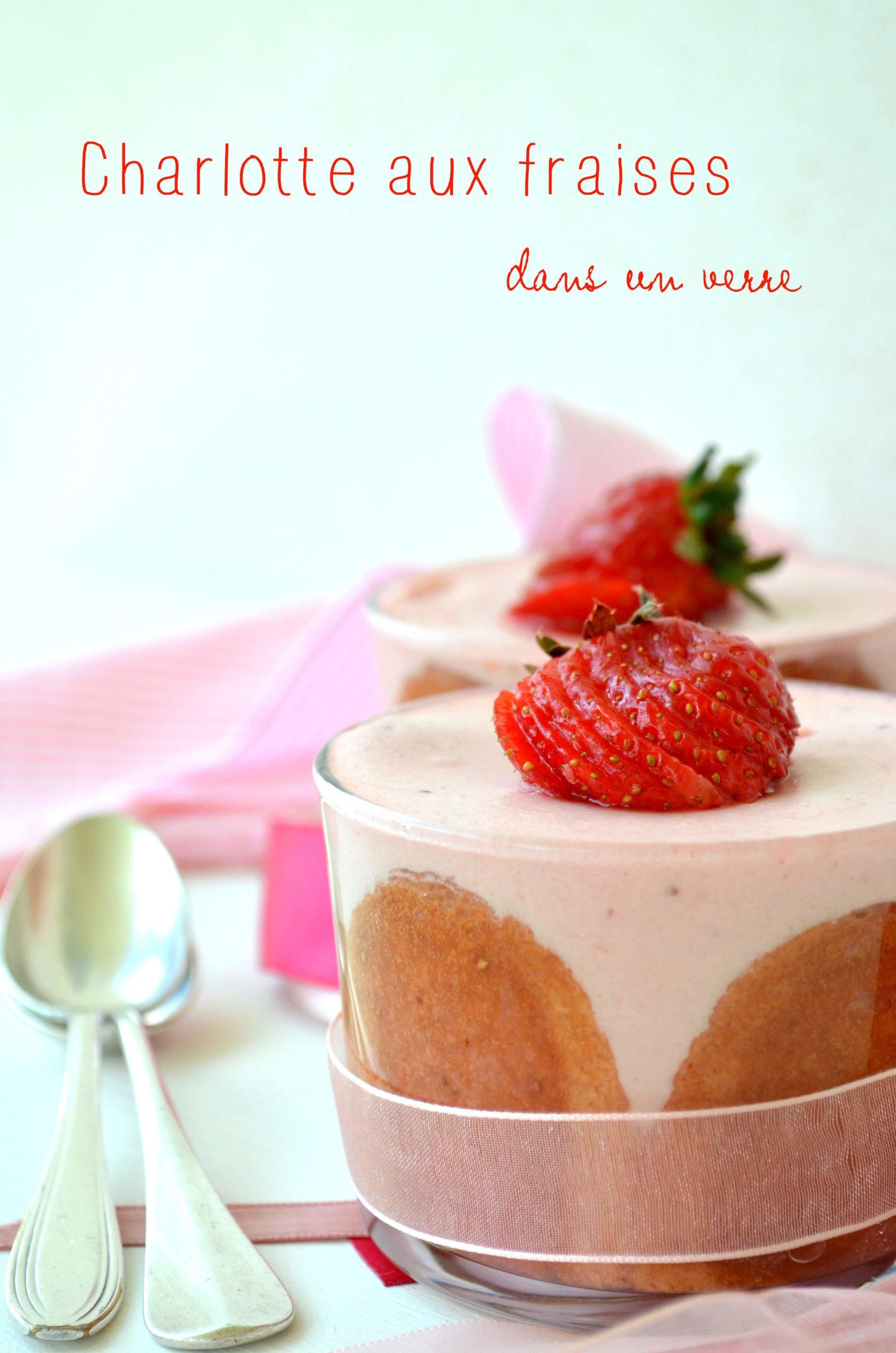 Charlotte aux fraises