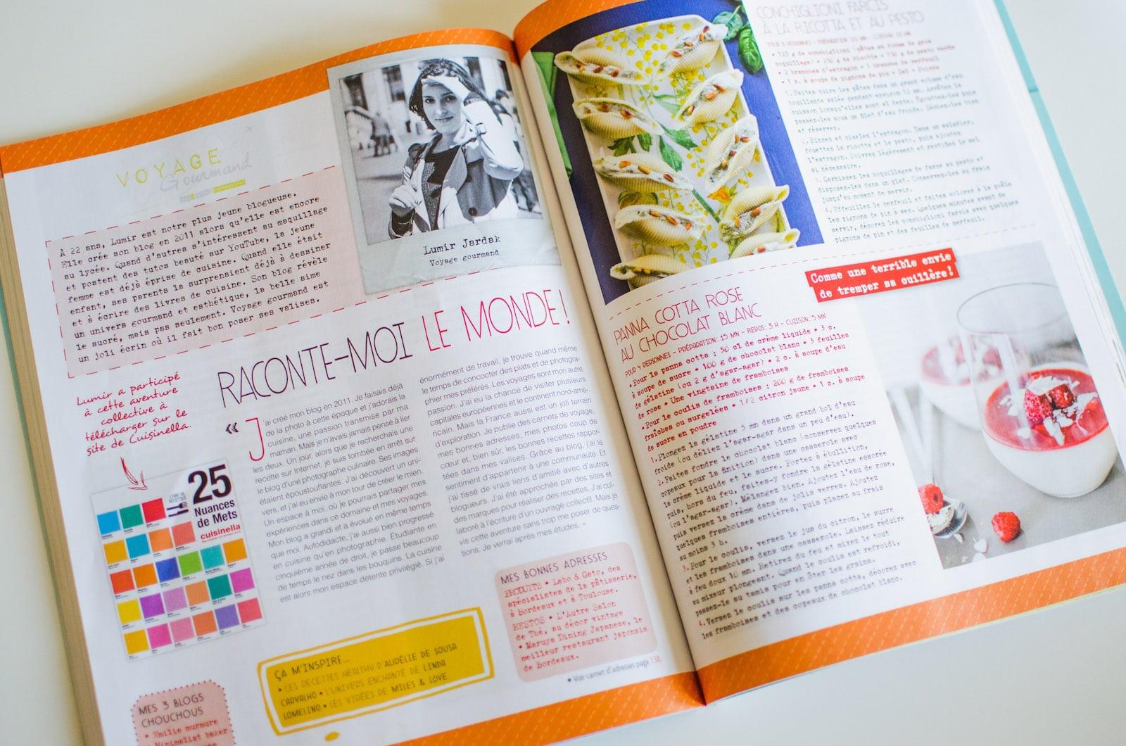 Saveurs Magazine, Spécial blogs culinaires