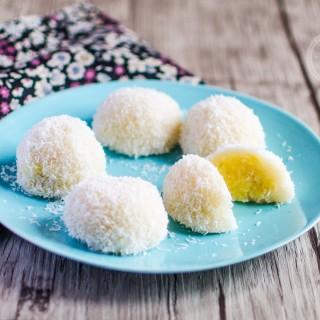 Perles de coco (ou boules coco) asiatiques