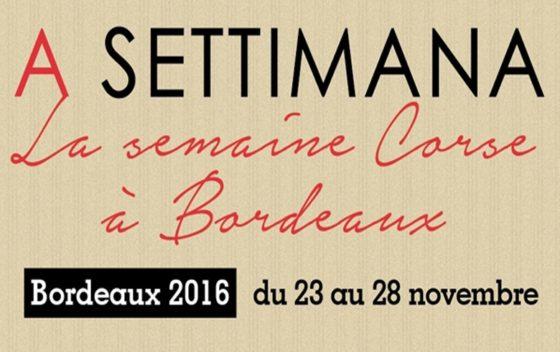 A Settimana, Semaine Corse Bordeaux