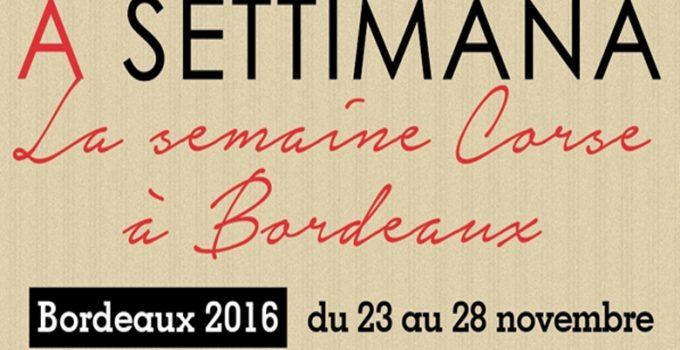 Le terroir corse à l'honneur avec A Settimana Bordeaux
