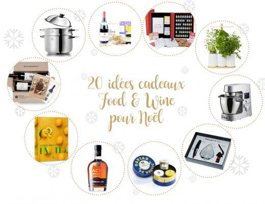 20 idées de cadeaux pour les gourmands et amateurs de vin