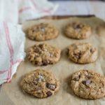 Cookies vegan au chocolat et beurre de cacahuète