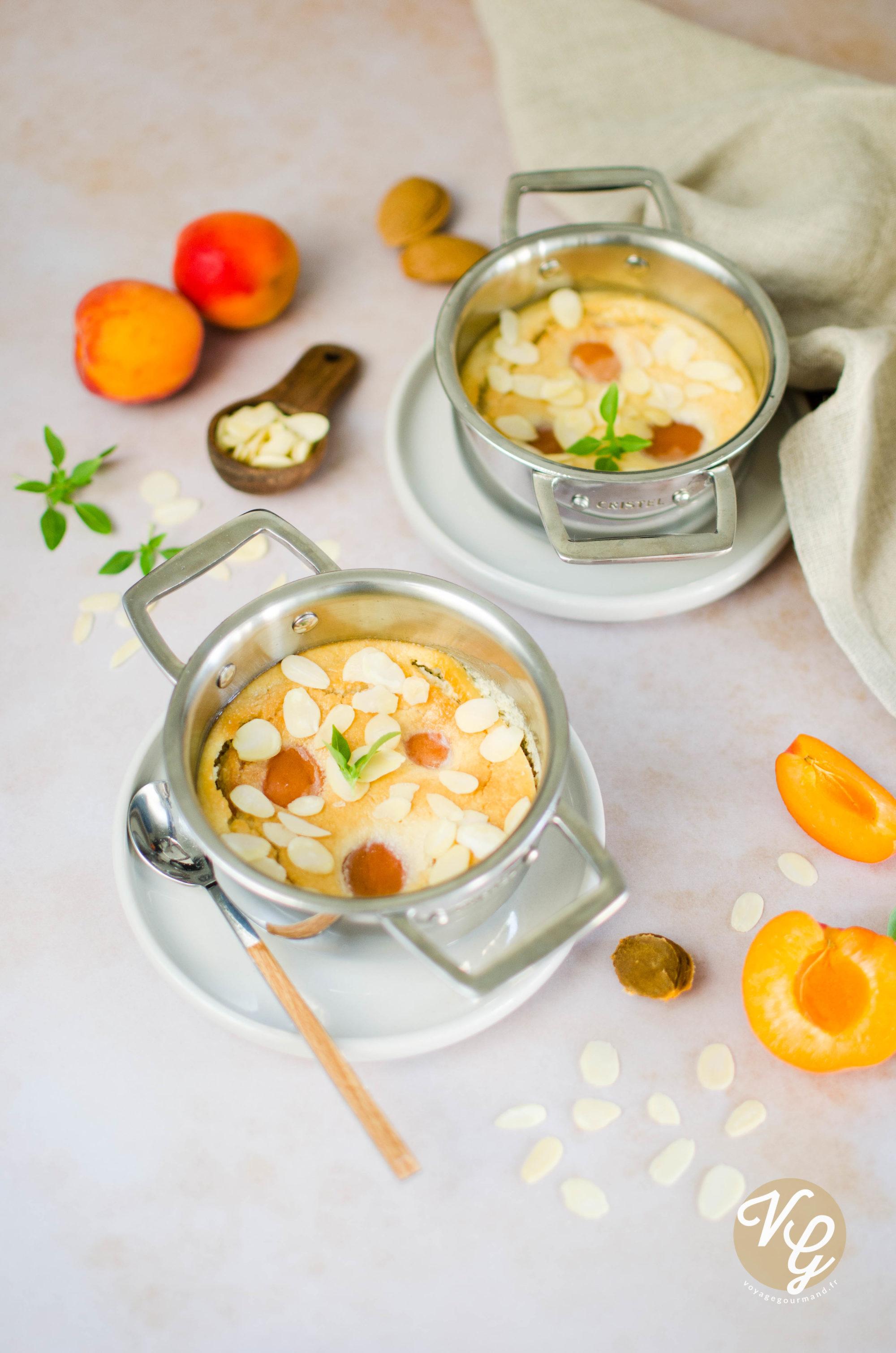 clafoutis abricots lait d'amande IG bas