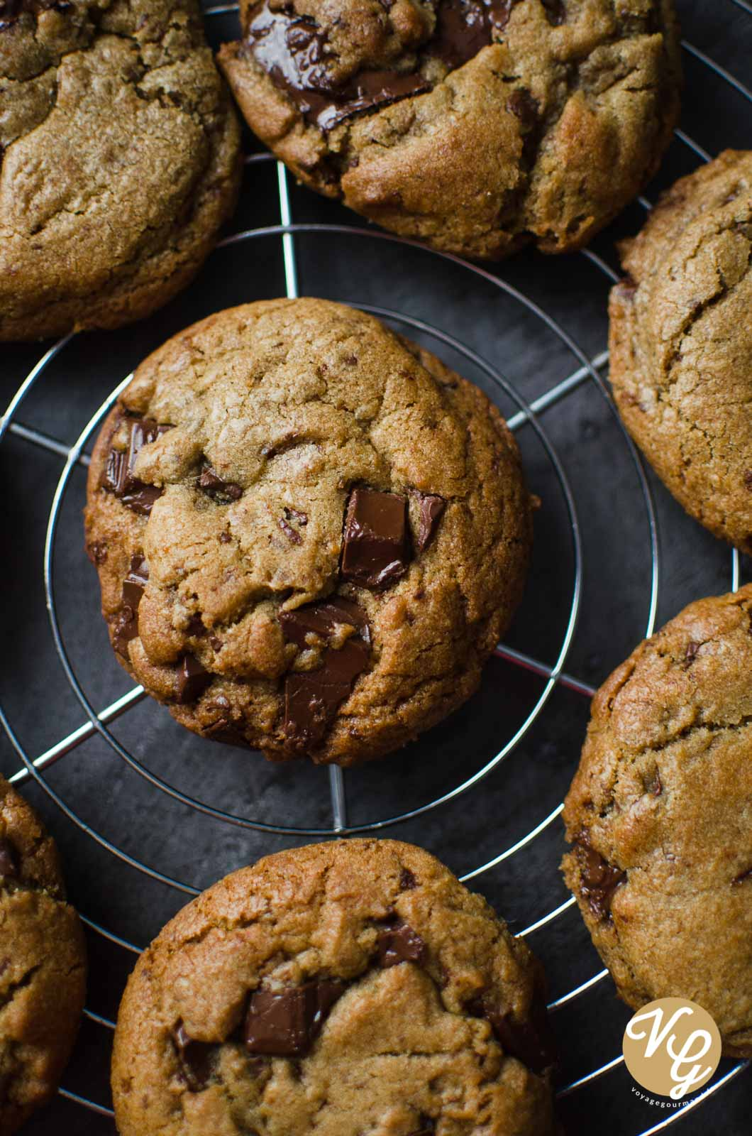 Cookies au chocolat comme à New-York